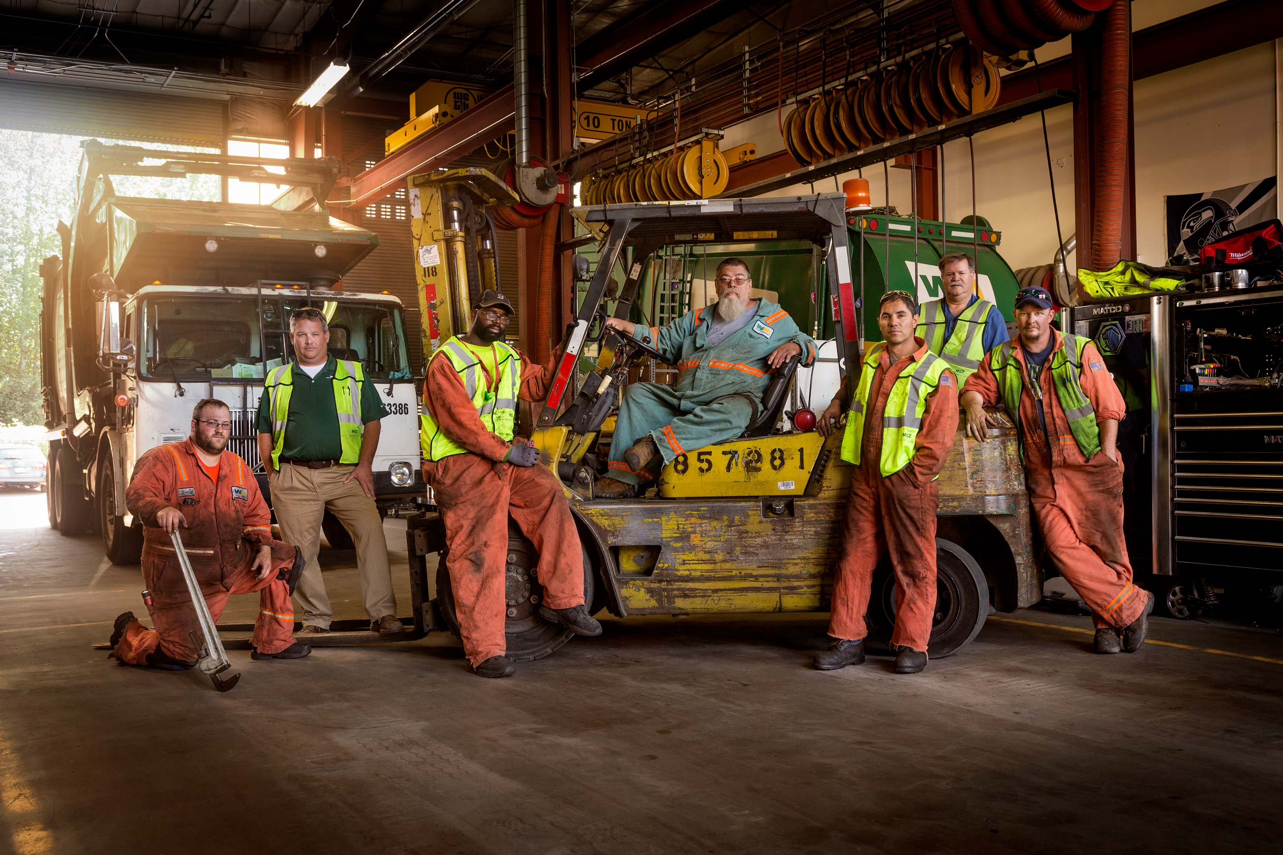 Waste Management - Shop Crew
